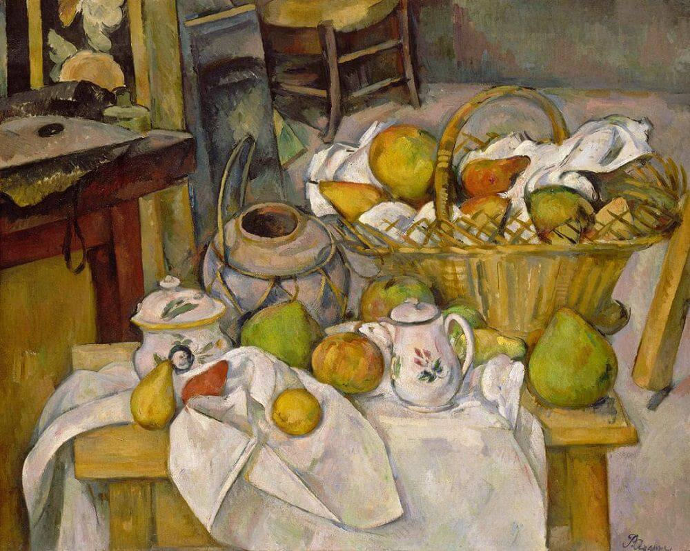 Kitchen Table, 1888-90 by Paul Cezanne