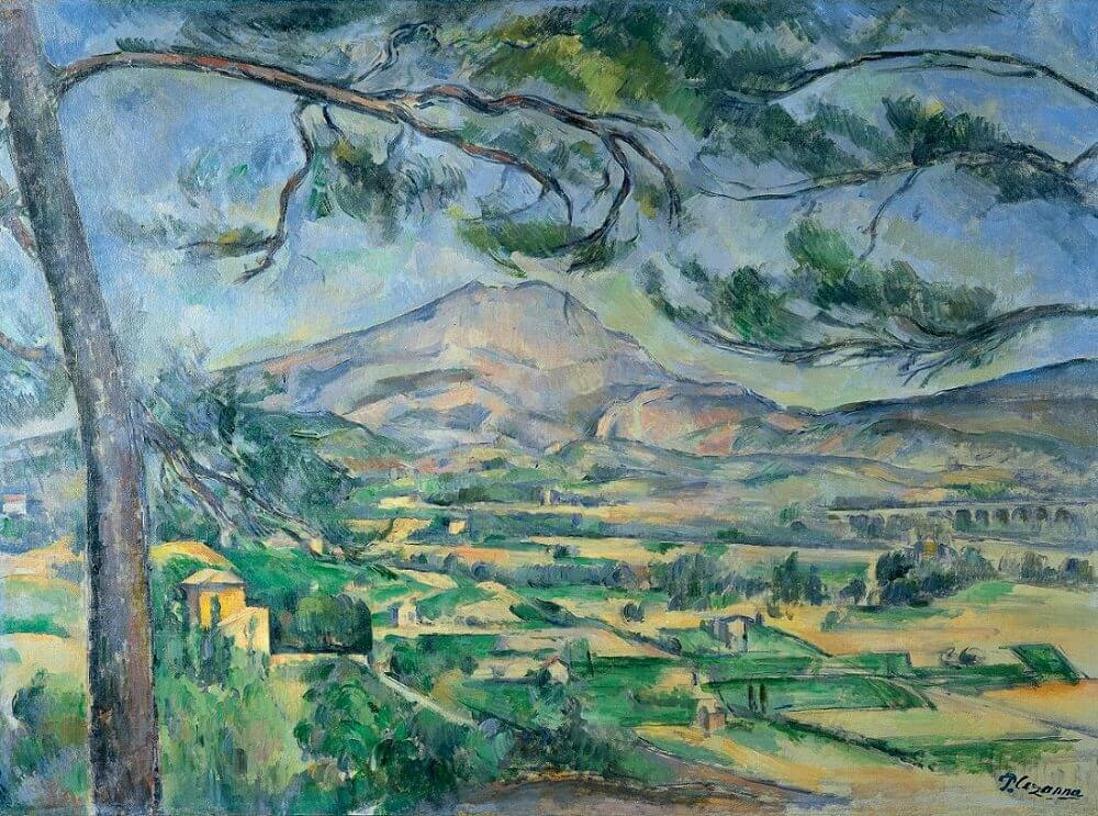 Mont Sainte-Victoire, 1885-87 by Paul Cezanne