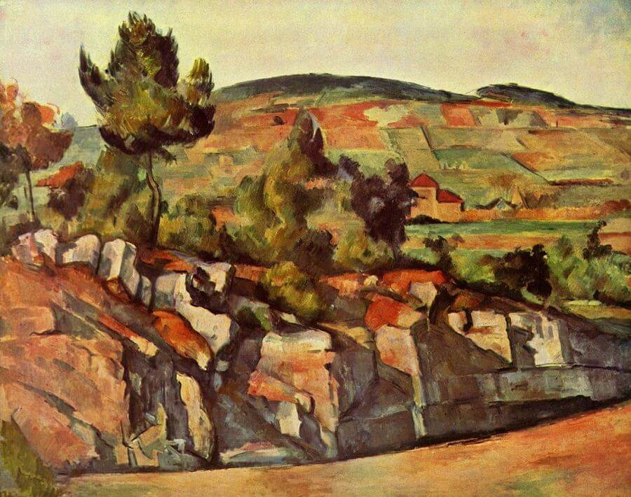 Mountains in Provence, 1886 by Paul Cezanne
