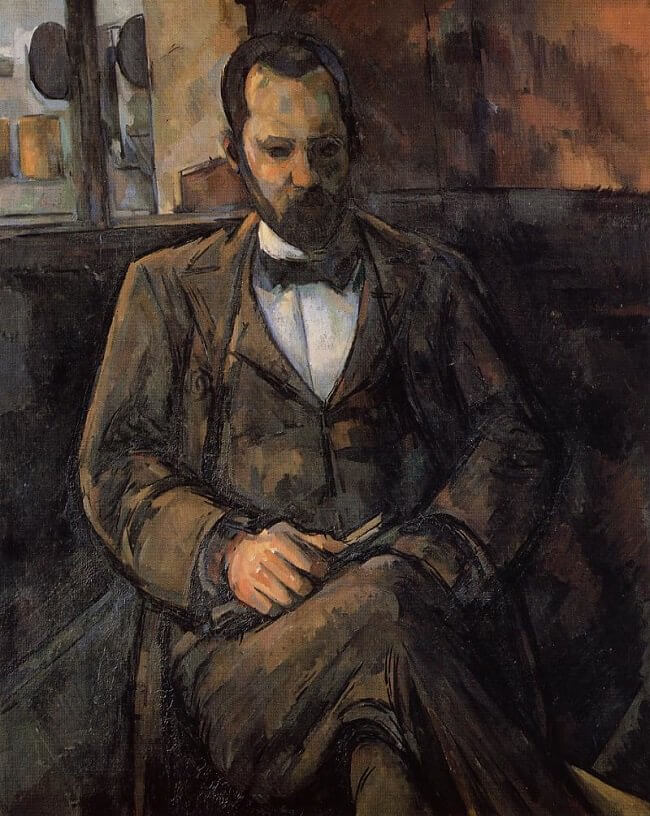 Portrait of Ambroise Vollard, 1899 by Paul Cezanne