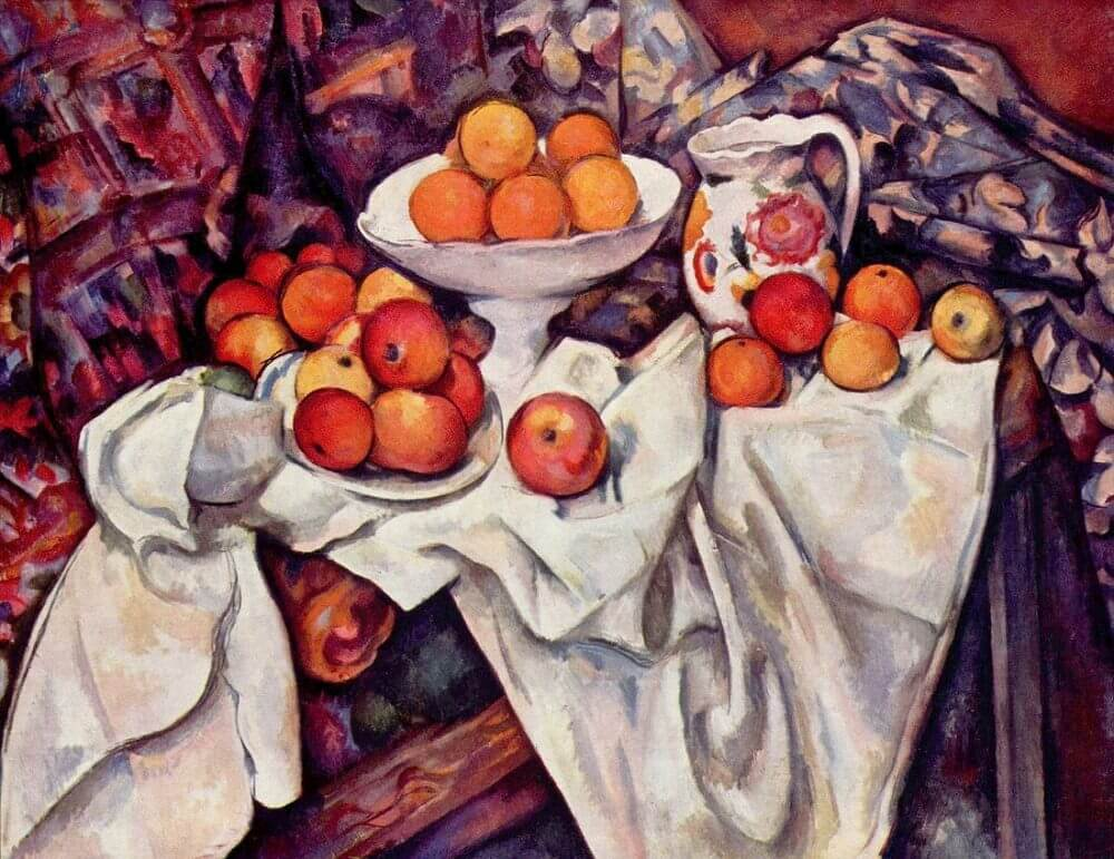 Still Life with Apples and Oranges, 1895 by Paul Cezanne