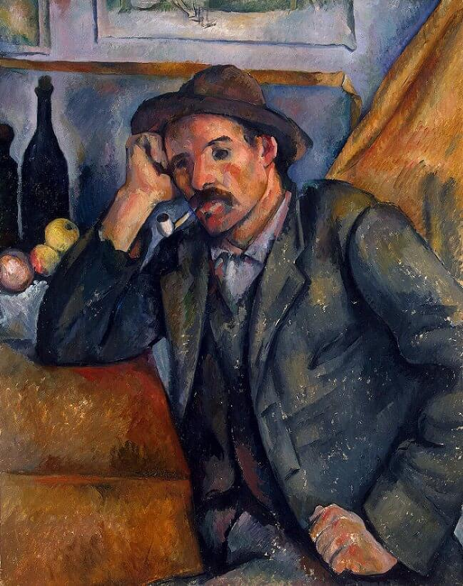 The Smoker, 1890 by Paul Cezanne